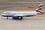 British Airways, G-EUPY, Airbus A319-131 (42595962770).jpg