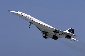 1977 in the United States -  A British Airways Concorde aircraft