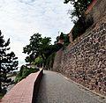 Brno-Petrov, dlážděná cesta pod katedrálou II.jpg