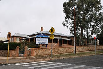 Catholic education in Australia - Catholic primary school at Broken Hill, New South Wales. Around one in five Australian children attend Catholic schools.