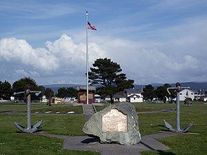 Crescent City, California - Brother Jonathan Cemetery in Crescent City.