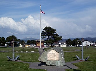 California Historical Landmarks in Del Norte County - Image: Brother Jonathan Cemetery Crescent City, CA