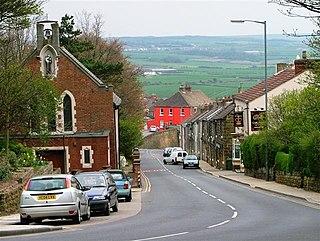 Brotton Village in North Yorkshire, England