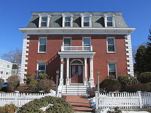 National Register of Historic Places listings in Ipswich, Massachusetts - Image: Browns Manor, Ipswich MA
