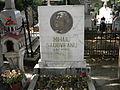 Bucuresti, Romania, Cimitirul Bellu Ortodox (Mormantul lui Mihail Sadoveanu) (detaliu).JPG