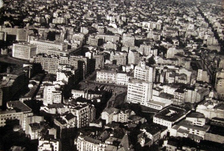 Bucuresti - Panorama din elicopter