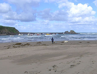 Bude - The Haven, the Atlantic Ocean and the beach at Bude