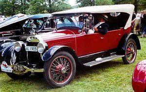 Buick Master Six - Image: Buick Master 50 55 Sport Touring 1923
