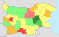 Bulgaria fertility rate by region 2014.png