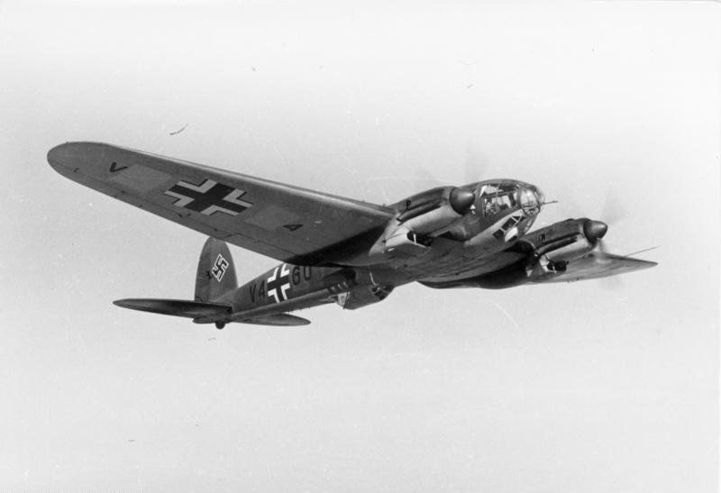Bundesarchiv Bild 101I-385-0587-07, Flugzeug Heinkel He 111 H-Z