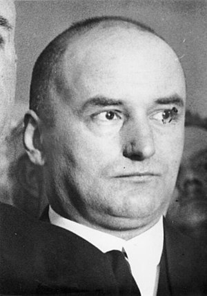 Reich Ministry of Transport - RVM Director of Maritime Shipping Erich Klausener in 1933, one year before his assassination in the Night of the Long Knives