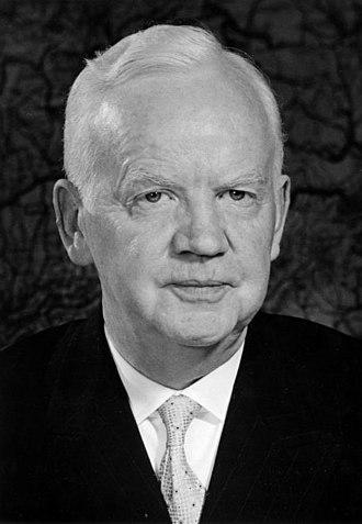 1959 West German presidential election - Image: Bundesarchiv Bild 146 1994 034 22A, Heinrich Lübke