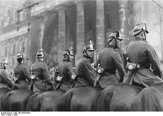Berlin Police - Police unit in 1929