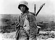 Bundesarchiv Bild 183-R05148, Westfront, deutscher Soldat