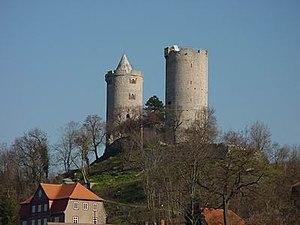 Saaleck Castle - Image: Burg Saaleck 1