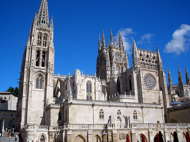 File burgos catedral wikimedia commons for Arquitectura santander