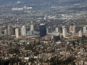 Metro Vancouver Regional District - Burnaby is the third most populated city in Metro Vancouver with a population of 232,755 (2016).