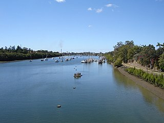 Burnett River river in central Queensland, Australia