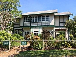 Burnett House (Darwin, Northern Territory) - Burnett House at Myilly Point