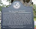 Burning of Darien historical marker, Darien, GA, US.jpg