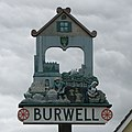 Burwell Village Sign - geograph.org.uk - 1482299.jpg