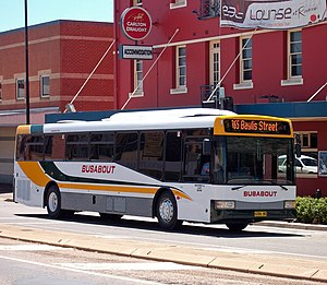 Busabout Wagga Wagga - Bustech bodied Mercedes-Benz O500LE in October 2009