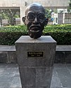 Bust of Gandhi at exterior of Museum Memory & tolerance - Mexico city.jpg