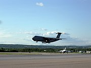 C-5B Arrival At CYQB