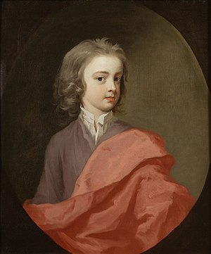 Thomas Winnington (1696–1746) - Thomas Winnington as a child, painted by Michael Dahl