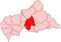 Ouaka, prefecture of Central African Republic