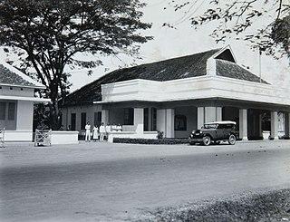Pasuruan City in East Java, Indonesia