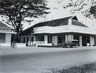 Pasuruan - Image: COLLECTIE TROPENMUSEUM Het gemeentehuis in Pasoeroean T Mnr 60052533