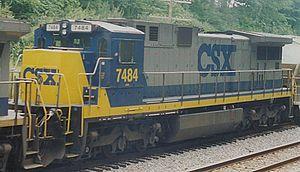GE C39-8 - Image: CSXC3987484