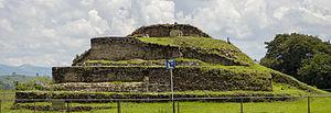 Cacaxtla - Cacaxtla pyramid mound no. 1
