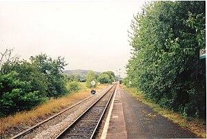 Caersws railway station - Image: Caersws station 11