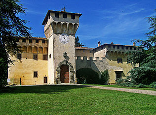 Villa medicea di Cafaggiolo.