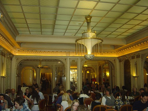 Cafe Angelina, Paris 2011