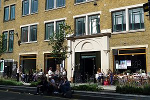 Cafe Oto - A view to the entrance to Cafe Oto