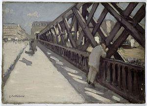 Le Pont de l'Europe - Image: Caillebotte Pontde L'Europe Rennes