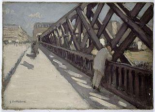 Study for Le Pont de l'Europe