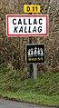 Callac 22. Panneau d'agglomération.jpg