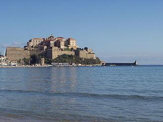 Medieval Corsica - Modified medieval citadel at Calvi