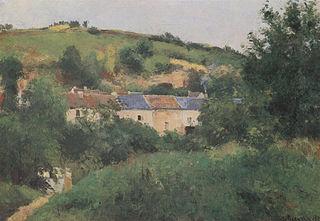 View of the Côte des Gratte-Coqs, Pontoise