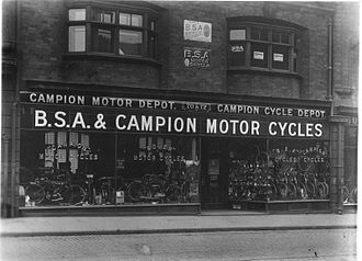 Campion Cycle Company - 70-72 Renshaw st. Liverpool, UK, about 1909