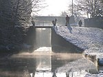 Canal Lock near Moston