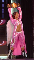Candice Michelle is to date the only former Diva Search contestant to win the Women's Championship.