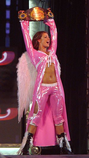 WWE Diva Search - Former Diva Search contestant Candice Michelle as the Women's Champion