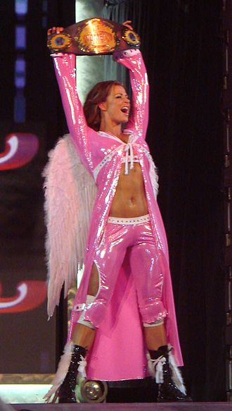 Candice Michelle - Candice as the WWE Women's Champion in 2007