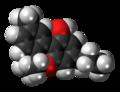 Cannabivarin molecule spacefill.png