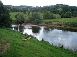 Canoe fun on the Wye - geograph.org.uk - 545495.jpg